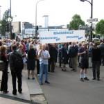 Manifestation à Beaugrenelle