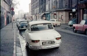 La rue Linois, vue du n°3