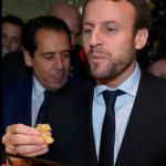 Le ministre Macron et le promoteur Bansay en visite à Beaugrenelle en janvier pour fêter l'ouverture du dimanche du centre commercial: ne pas laisser faire!